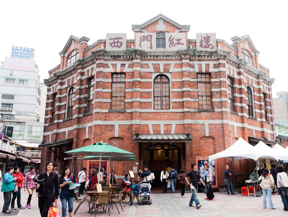 Music, Shopping, Art, and Theater All in One Wanhua District  Taiwan