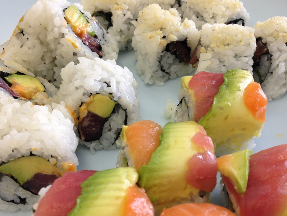 Hilo's Ocean Sushi, Where the Locals Eat Sushi Hilo Hawaii United States