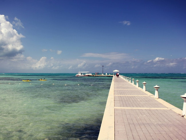 Relax at Cayman's Rum Point