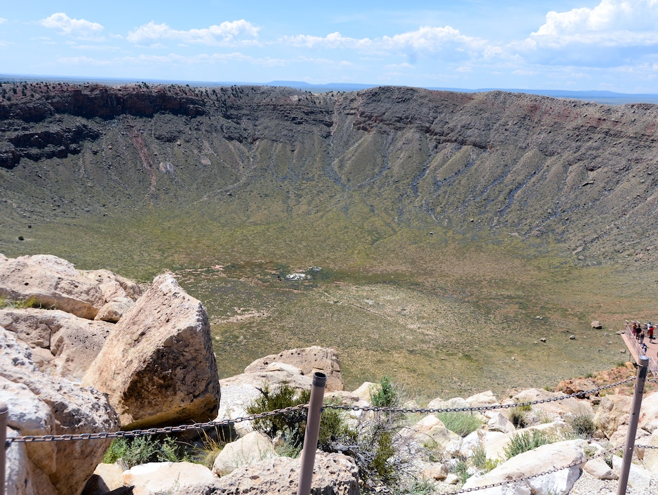 Meteor Crater Winslow Arizona United States