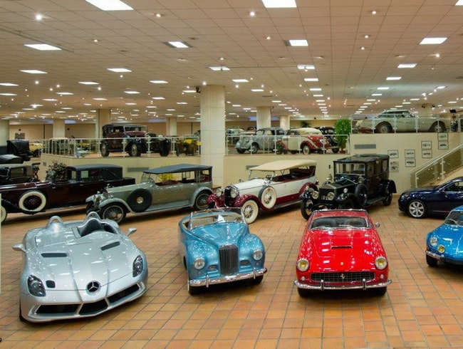 Prince Rainier III's Collection of Antique Cars