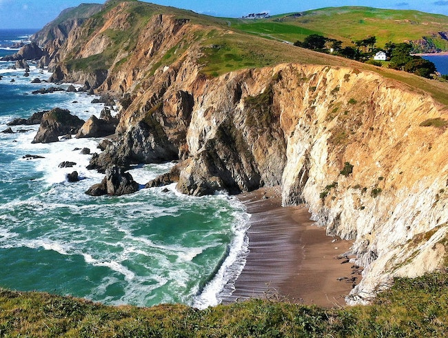 Point Reyes's Cliffs of Insanity: the Chimney Rock Trail