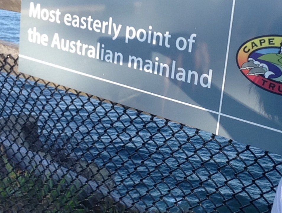 Stand on the Most Easterly Point of Australia