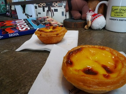 Lord Stow's Bakery, Andrew's Egg Tart Seoul  South Korea