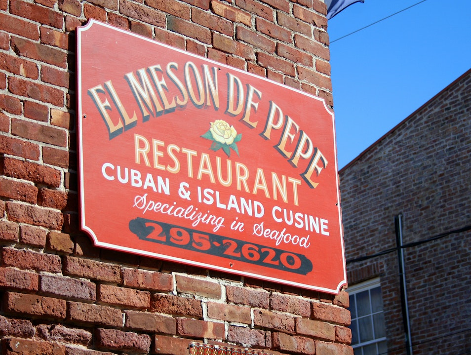 Live Music Every Day at El Meson de Pepe Key West Florida United States