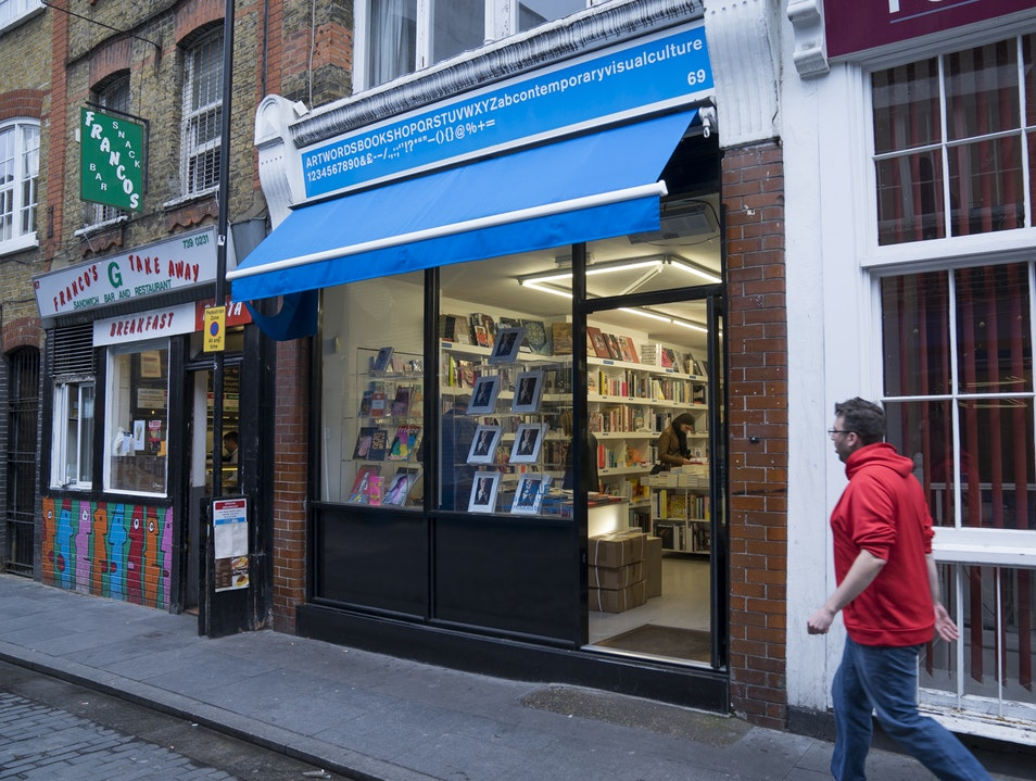 Artwords Bookstore  London  United Kingdom