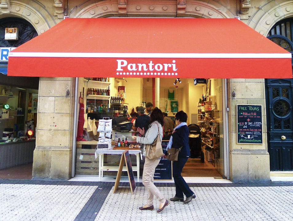 Shop Hippest Local Foods at Pantori Donostia  Spain