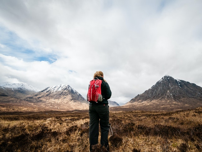 Hiking Along the West Highland Way