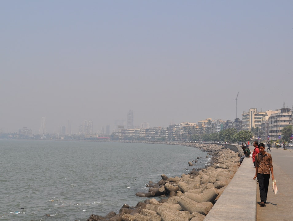 All Along the Causeway Mumbai  India