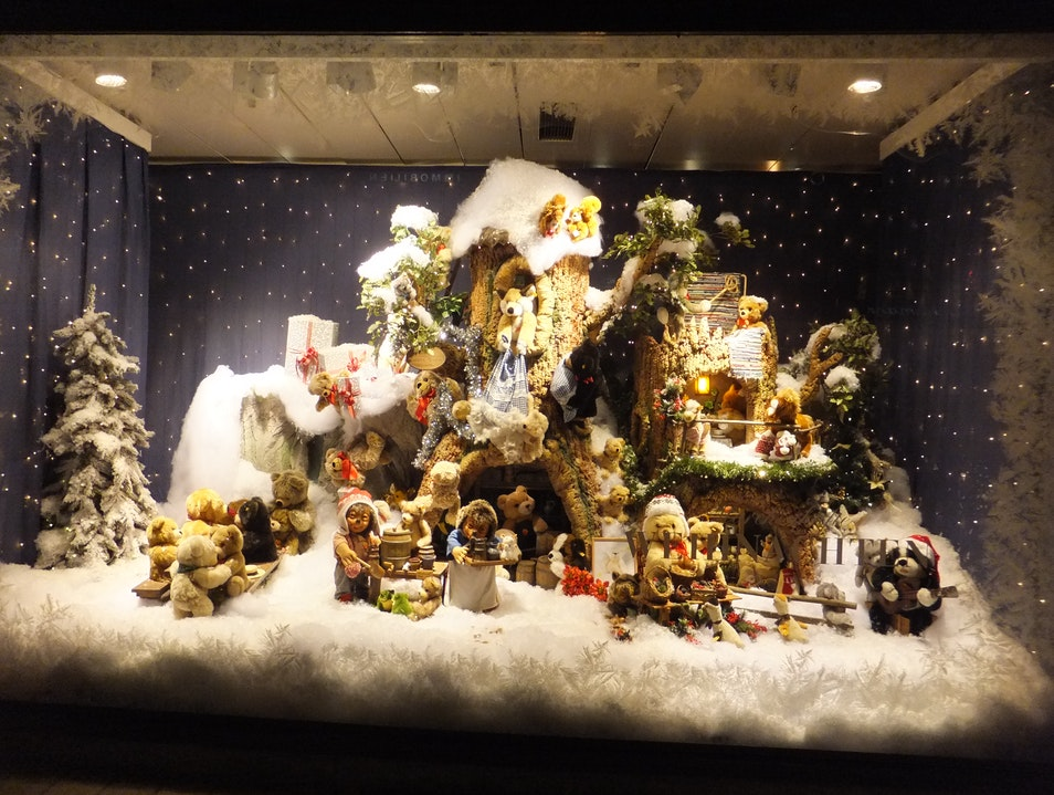 Christmas Window  Dusseldorf  Germany