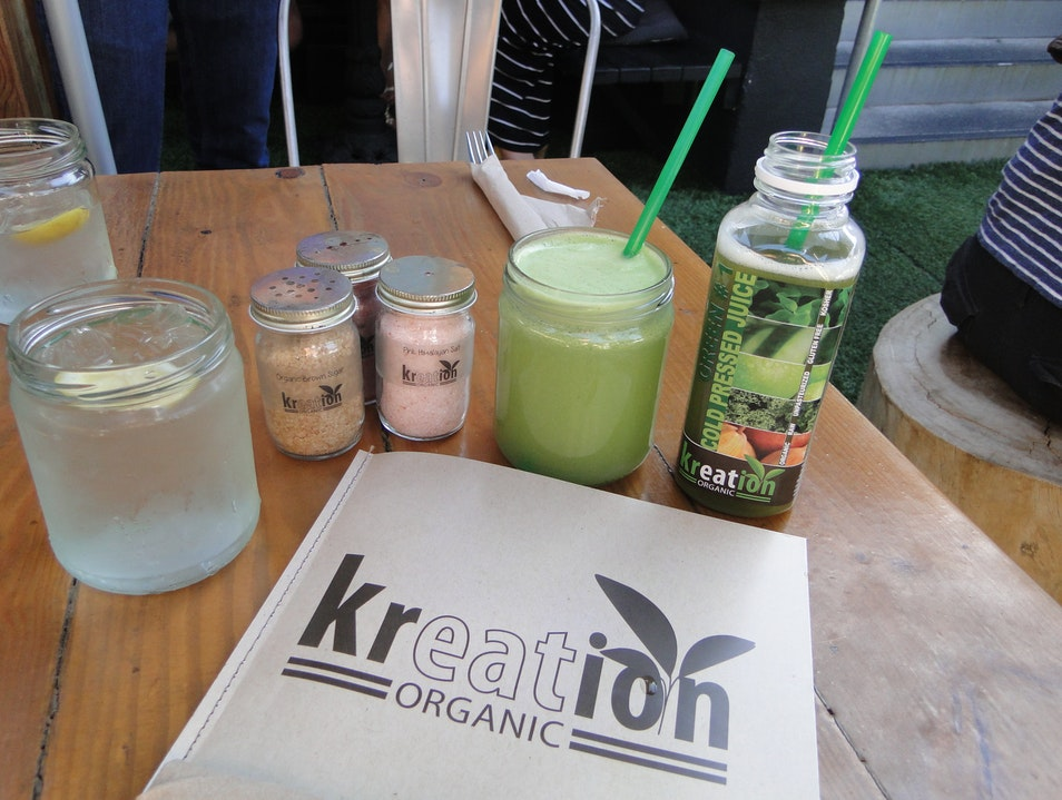Kreation's Colorful Organic Juices Los Angeles California United States