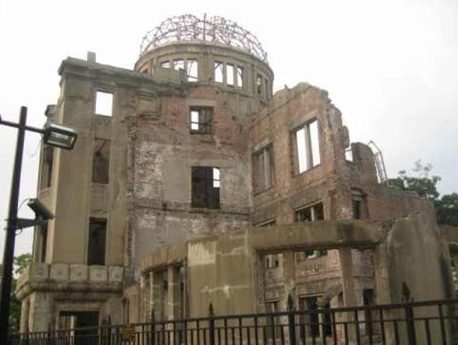 Hiroshima: The Only Building That Survived