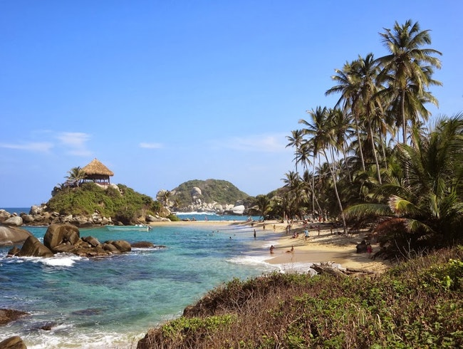 Camping in Tayrona National Park