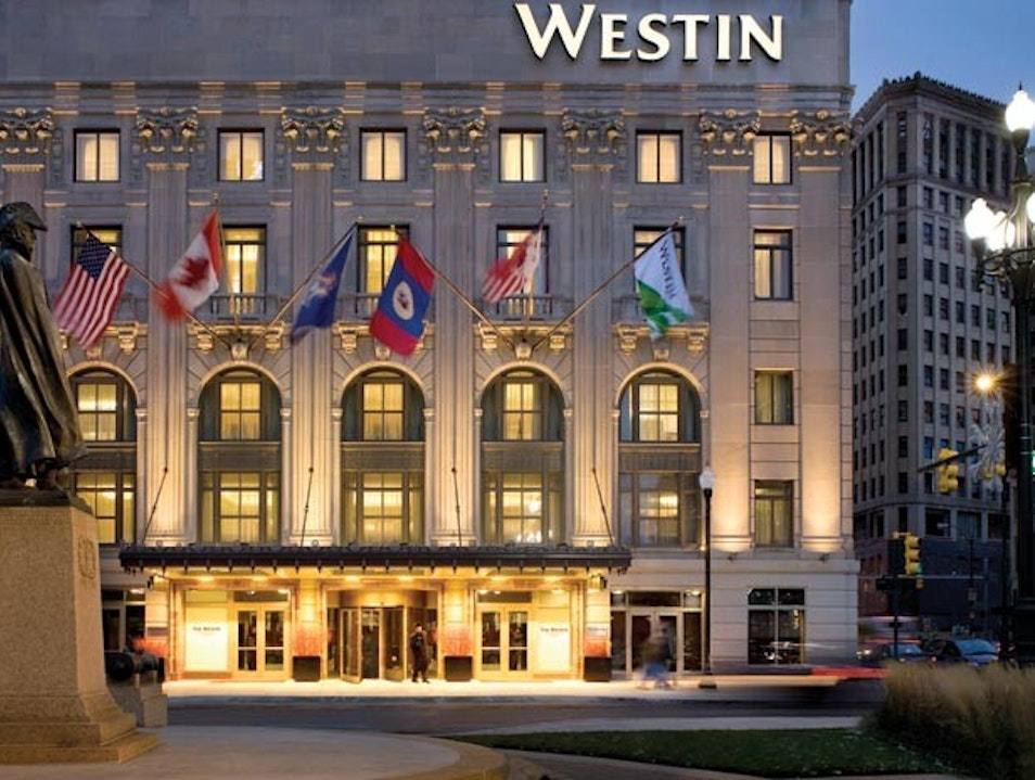 The Westin Book Cadillac Detroit Detroit Michigan United States