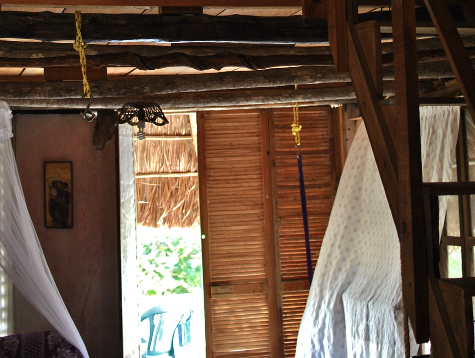 In the heart of every tourist-trap there is, within it, a rustic bungalow.  Quintana Roo  Mexico