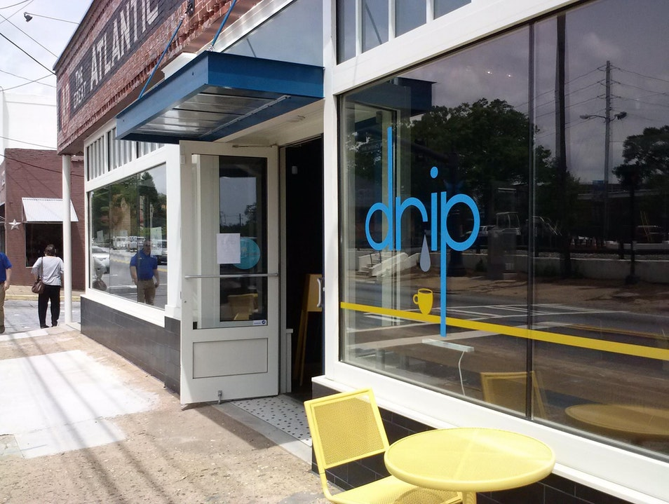 Drop In for Locally Roasted Coffee at Drip Hapeville Georgia United States