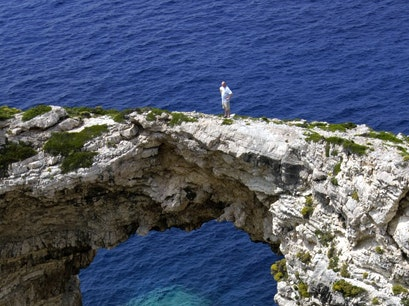 Paxos Kourteika  Greece
