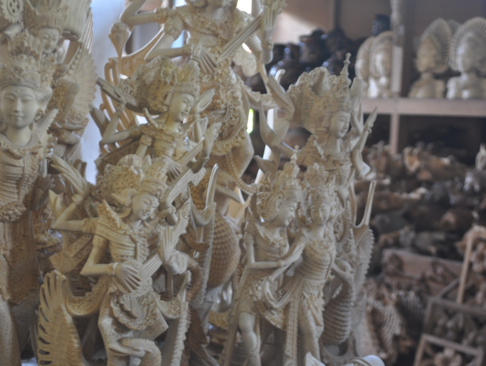 The Masters of Wood Carving Ubud  Indonesia