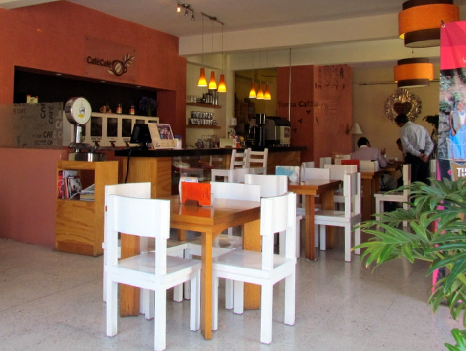 Cafe-Gallery with a Conscience Oaxaca  Mexico