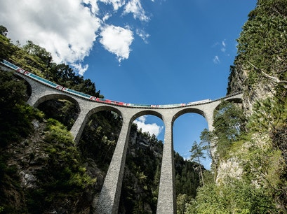 Landwasser Viaduct Filisur  Switzerland
