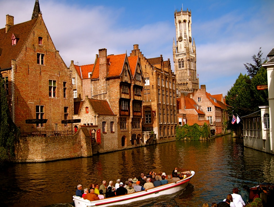 Chocolate, Waffles, Beer and Boats Bruges  Belgium