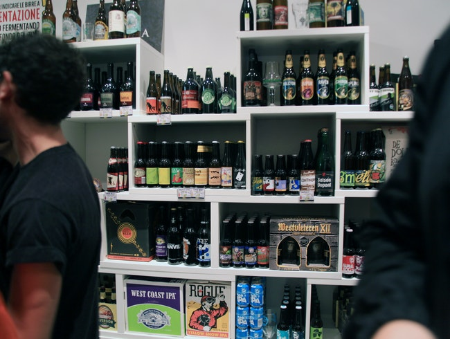 Top beer shop in Garbatella