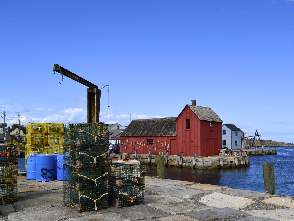 The Most Painted Building in the World Rockport Massachusetts United States