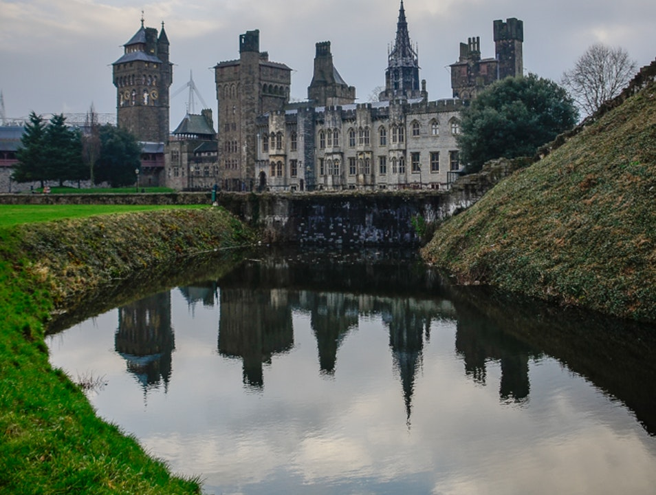 Cardiff Castle Cardiff  United Kingdom