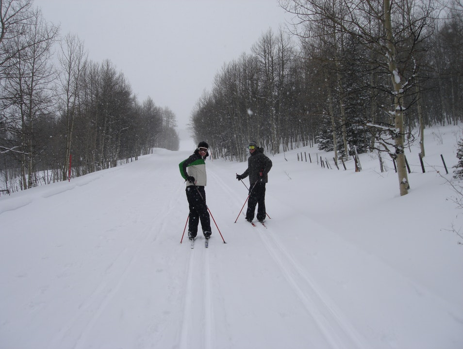 Cross Country Skiing in Aspen Aspen Colorado United States