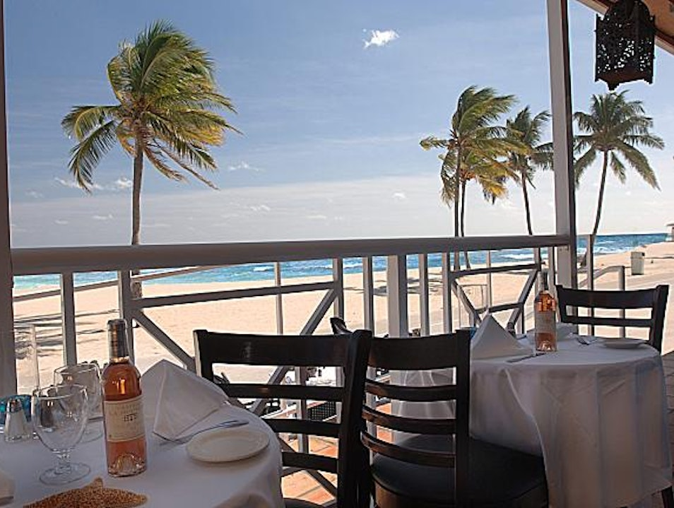 Combine French & Caribbean Cuisine on the Hollywood Beach Boardwalk Hollywood Florida United States