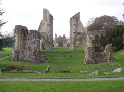 Glastonbury Abbey Bedford  United Kingdom
