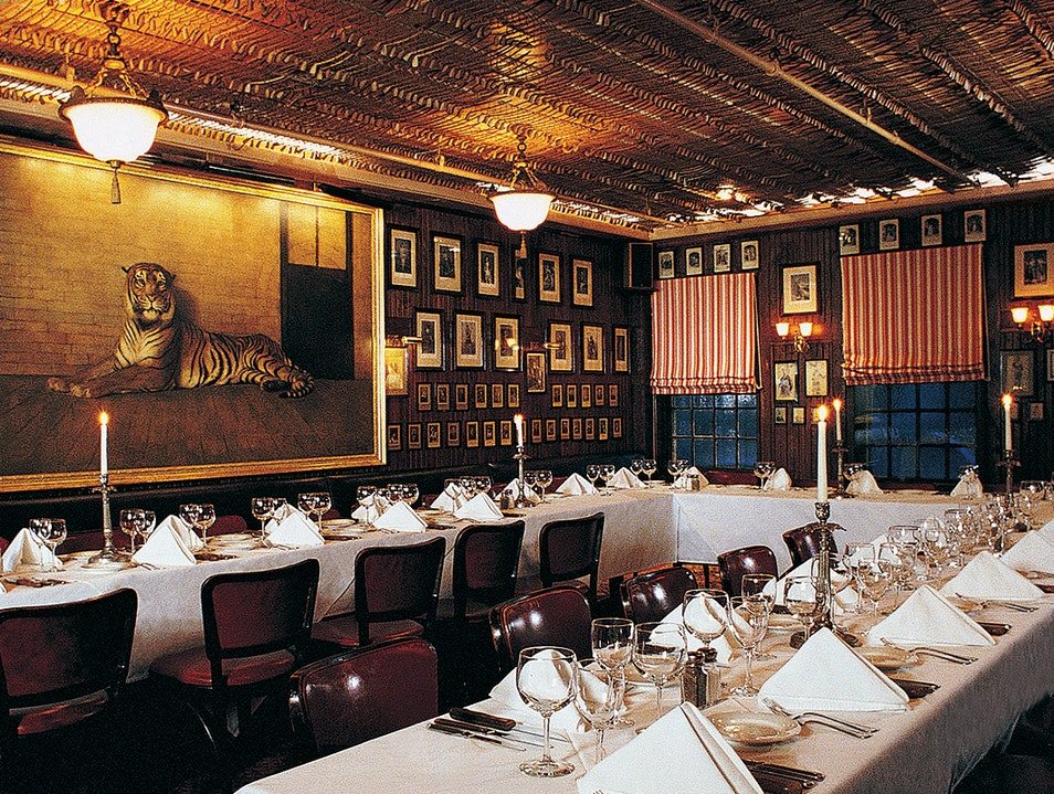 Keens Steakhouse New York New York United States