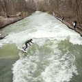Eisbach Munich  Germany