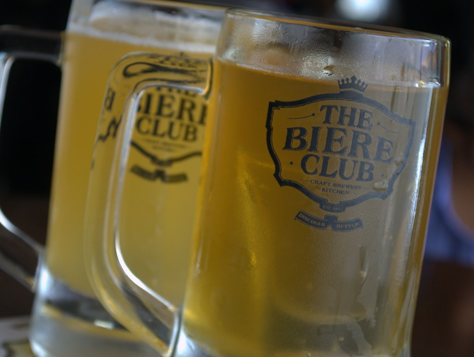 Handcrafted Beers at the Biere Club