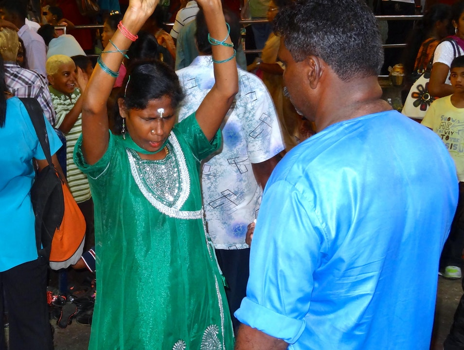 Thaipusam Trance Dance: Surrender can Manifest in Many Forms Batu Caves  Malaysia