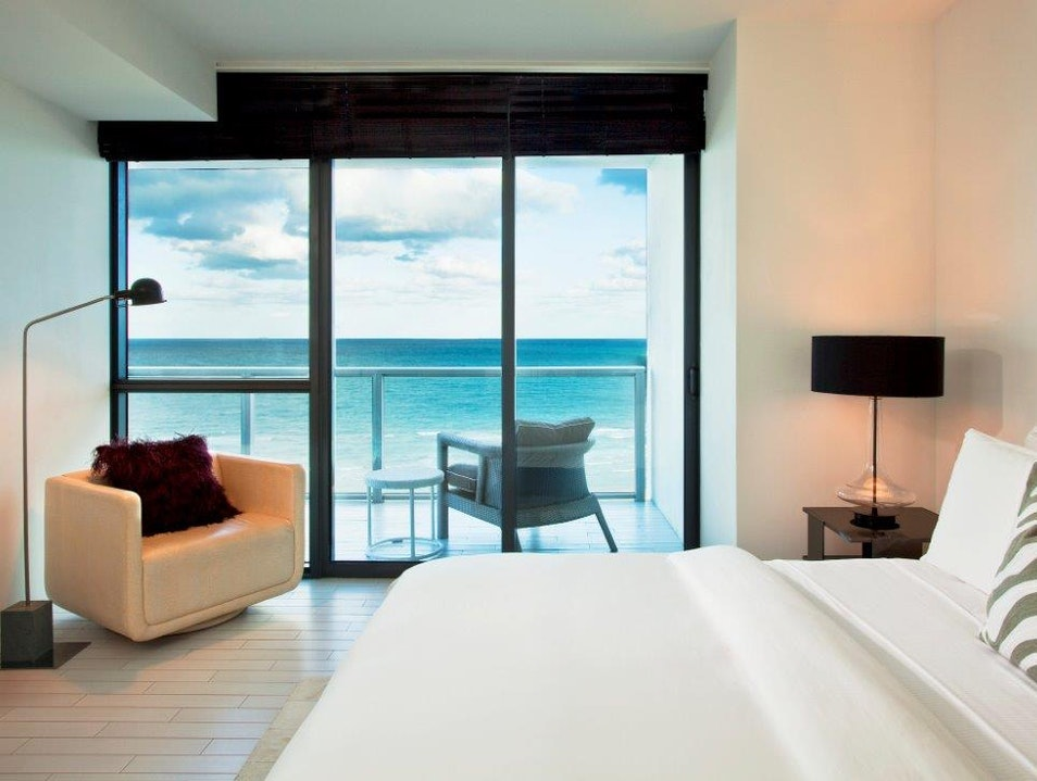 W South Beach Combines Luxury with Fashion and Relaxation  Miami Florida United States