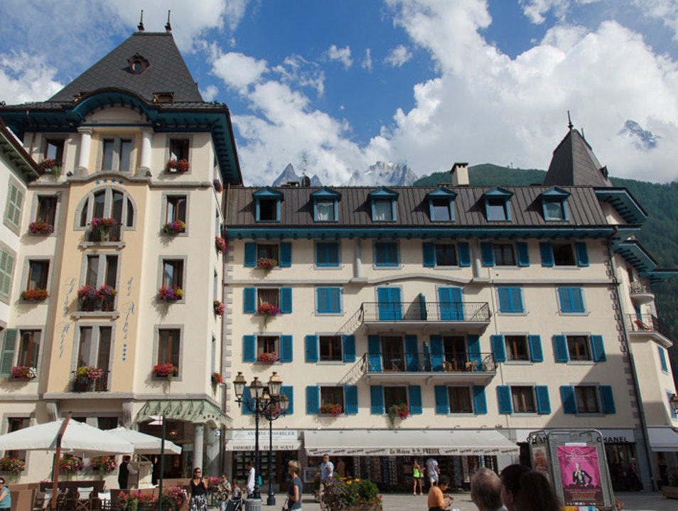 Grand Hôtel des Alpes Chamonix Mont Blanc  France