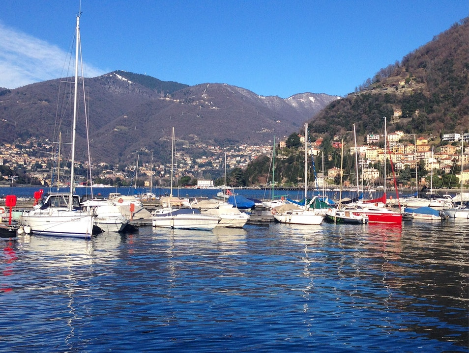 Finding Sunshine in Como, Italy