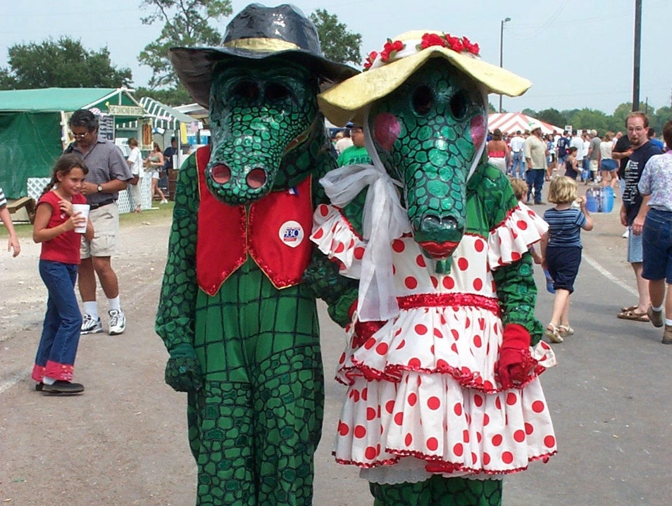 Mr. and Miss Gator