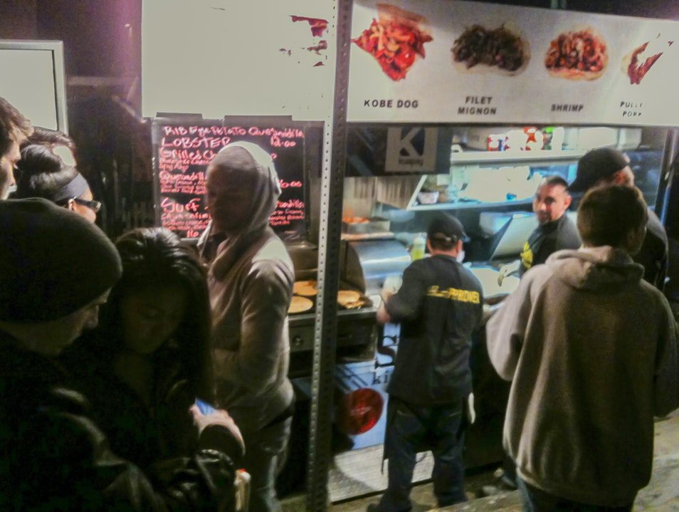 Abbot Kinney's Friday Night Street Food Los Angeles California United States