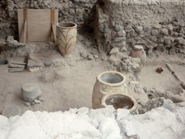Visit the fascinating Akrotiri Excavations