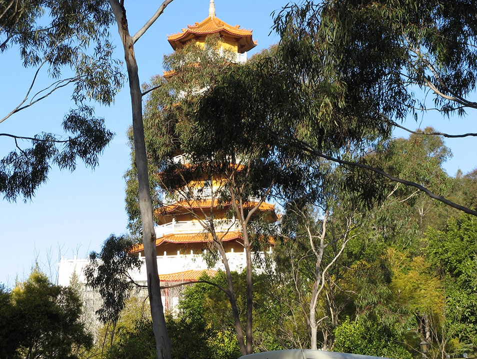 The Nan Tien Temple is the largest Buddhist Temple in the Southern Hemisphere