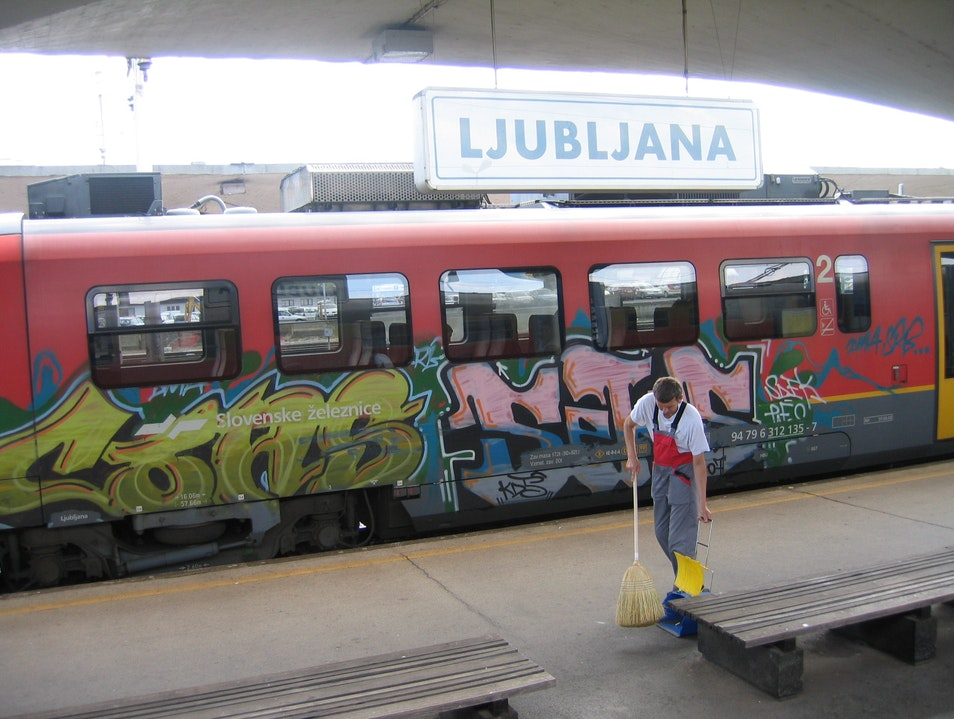 Ljubljana Main Train Station