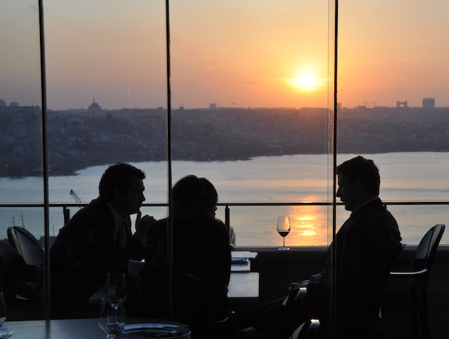 Sunset Drinks on the Golden Horn