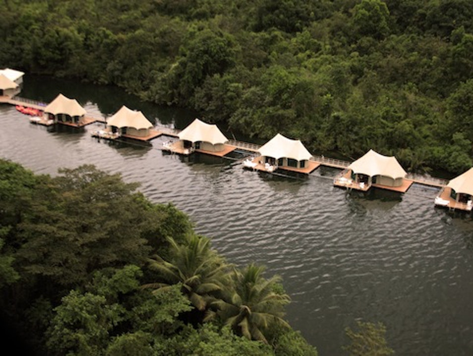 Overwater Bungalows: 4 Rivers Floating Lodge, Cambodia Tatai  Cambodia