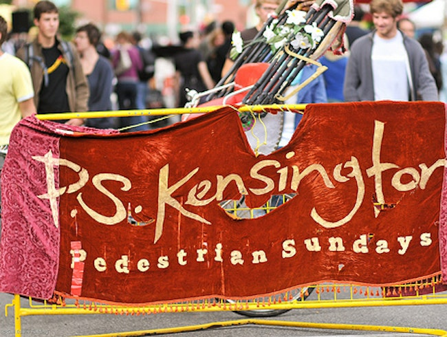 Pedestrian Sundays in Kensington Market