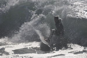 surf session - near Ensenada