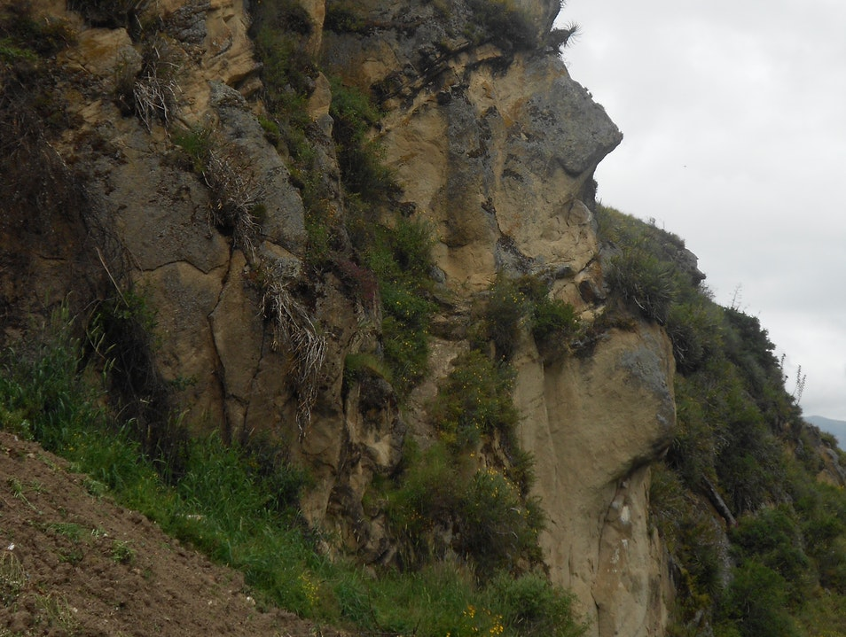 The Face on the Mountain Canar  Ecuador