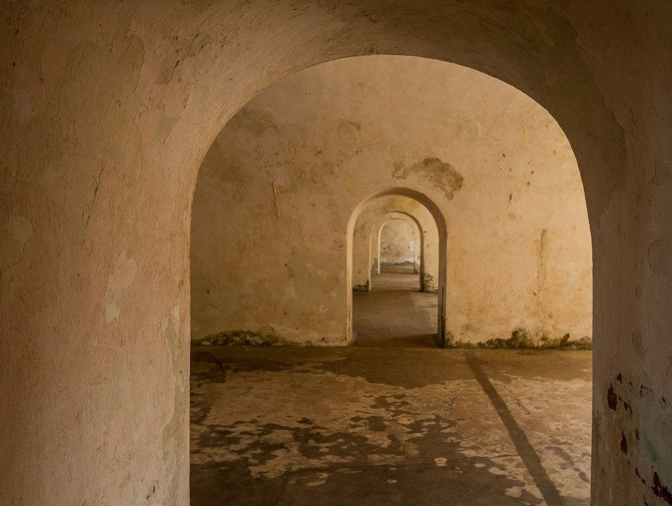 Exploring the Corridors of El Morro San Juan  Puerto Rico