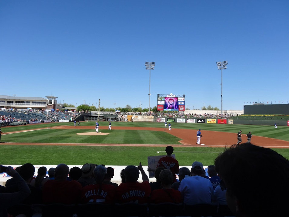 Spring Training in Phoenix (area)